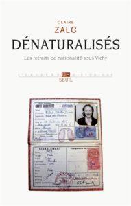 C. Zalc : Dénaturalisés (couv.]