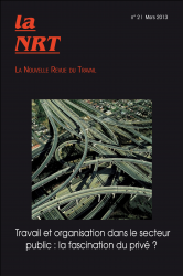 La Nouvelle Revue du Travail n°2 | mars 2013