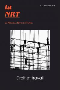 Couverture du n°7 de la NRT – Droit et travail