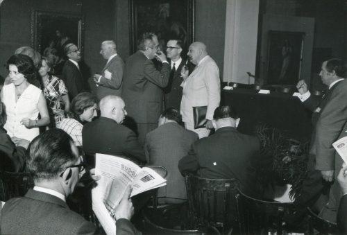 20e Assemblée générale AICA, Bordeaux, septembre 1968