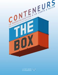 "Couverture du catalogue de l'expo ""The Box"", printemps 2015, Port-Musée de Douarnenez."