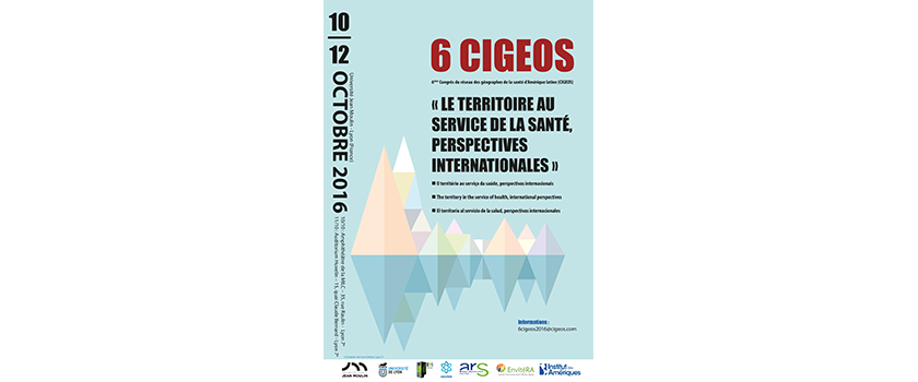 Colloque CIGEOS 6 : 10-12 octobre 2016
