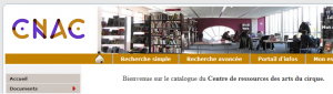 Catalogue en ligne du Cnac