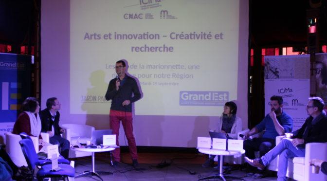 Compte-rendu de la table-ronde « Arts et innovation – Créativité et recherche »