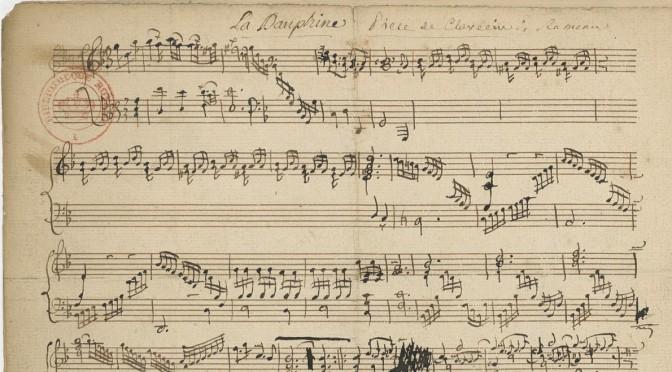 Nouveau séminaire sur l'histoire des collections musicales de la BnF : appel à communication