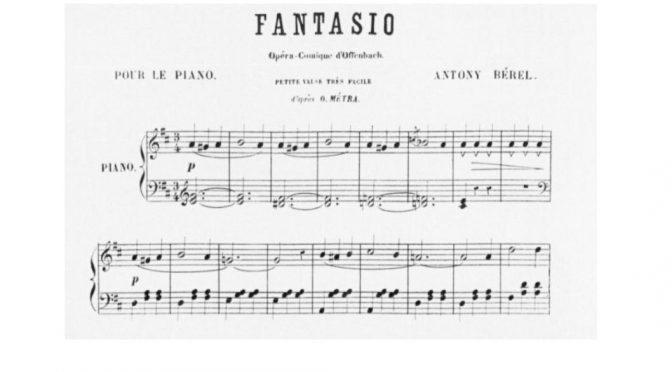 Le Chantier Fantasio : Enquête sur un processus de création à l'Opéra Comique