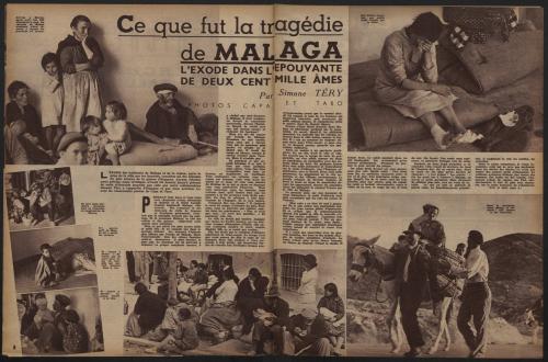 "Figure 22. Recherche d'illustrations dans <a href=""http://gallica.bnf.fr/ark:/12148/bpt6k7635923b/f6.image"">Regards </a>: « bataille de Málaga »"