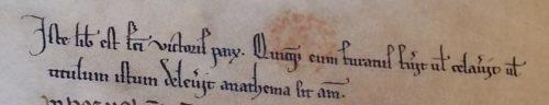 BnF lat. 14246 f.1v. Cet ex-libris est du style SV-XIIIe-A.