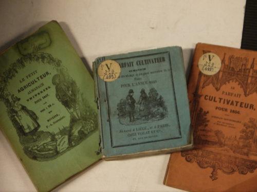Le parfait cultivateur, almanach pour l'année 1849, 1856, 1857