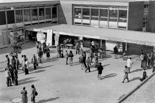 Université de Vincennes au milieu des années 1970 © Jean-louis Boissier