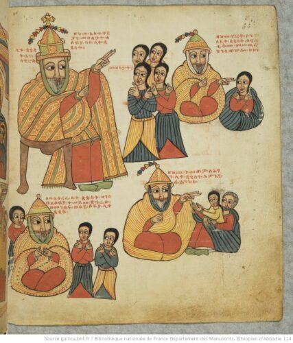 Poème amharique, Bibliothèque nationale de France Département des Manuscrits. Ethiopien d'Abbadie 114