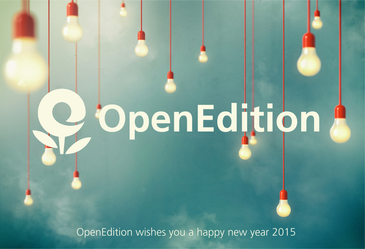 best wishes 2015 from OpenEdition