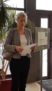 Stéphanie Dord-Crouslé Responsable de l'AHN et responsable adjointe de l'IHRIM du site ENS de Lyon