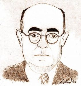 German philosopher Theodor W. Adorno, by Leandro Gonzalez de Leon (Quelle: https://commons.wikimedia.org/wiki/File:ADORNO_by_LGdL.JPG?uselang=de)