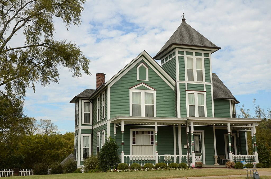 """La maison d'Henry """"Harry"""" Charles Pernot à Van Buren"""