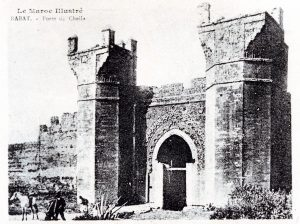 Album-souvenir de Rabat (5) Porte de Chella
