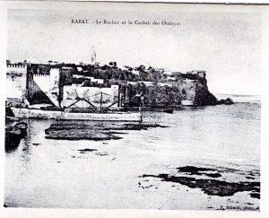 Album-souvenir de Rabat (7) le rocher et la casbah des Oudayas