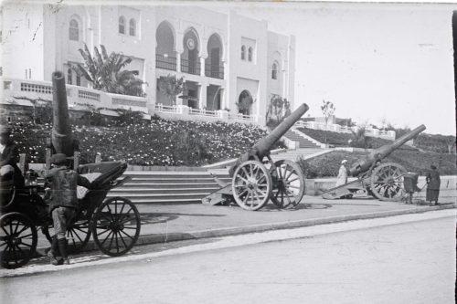 Canons 255 lourds pris aux boches le 15 juillet 1915 par l'infanterie coloniale du Maroc (2)