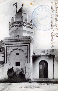 carte postale Algérie 1914