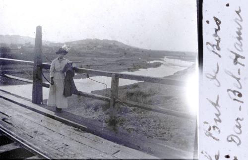 Le pont de bois à Dar-Bel-Hamri