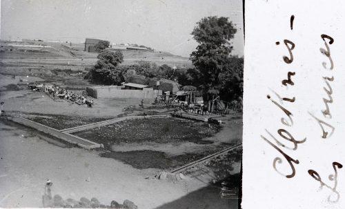 Maroc 1915 - Meknès - Les sources