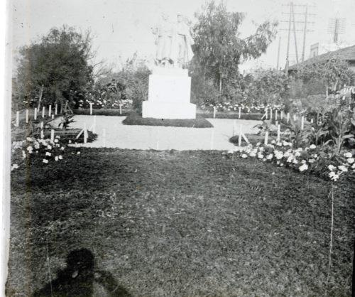 Monument érigé à la Résidence (Rabat)