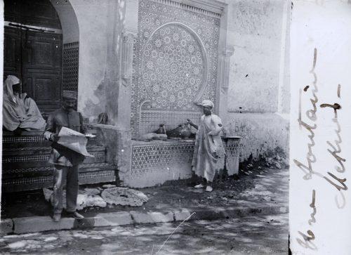 Une fontaine, Meknès (1)