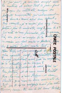 Maroc 1914 - Casablanca - Raz de marée carte postale