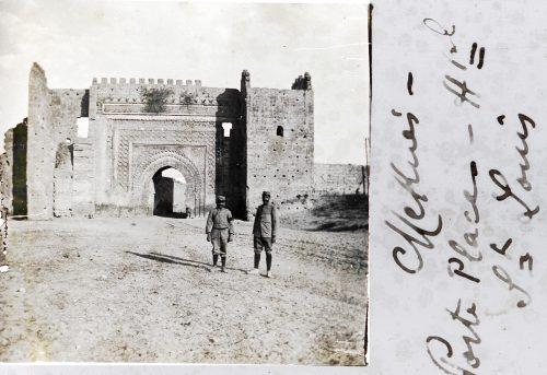 Meknès Porte place Hôpital (militaire) St Louis - El Hedim (1)