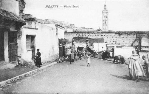 Meknès place Smen