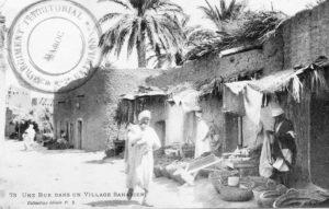 Une rue dans un village Saharien