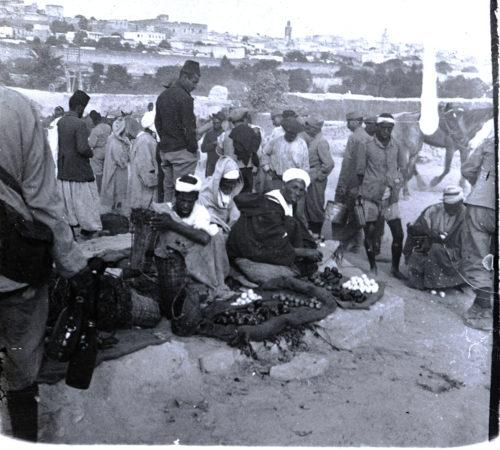 vendeurs marocains