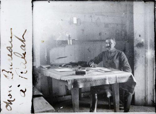 Mon bureau à Rabat -Joseph Miquel Maroc 1916