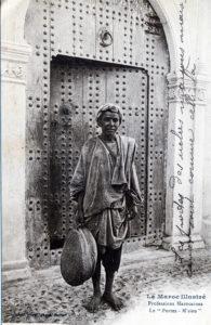 Porte riche maison marocaine