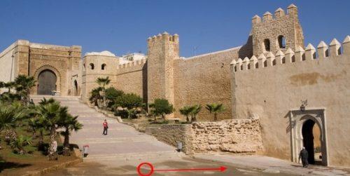Maroc - Rabat - Kasbah des Oudayas à Rabat