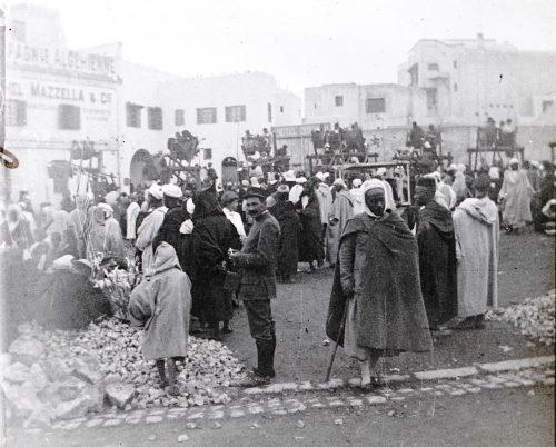 Maroc 1915-1916 - Place des Oudayas, Rabat