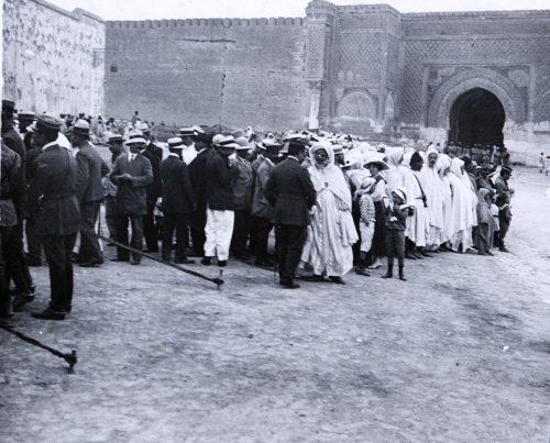 Réceptiondes tirailleurs marocains (2)