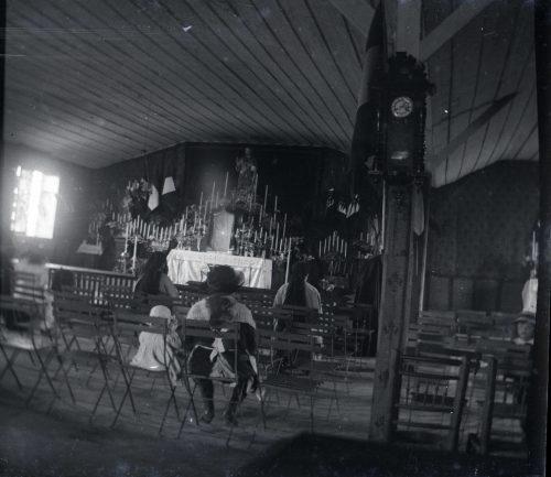 Intérieur chapelle - Photo © Joseph Miquel - Maroc 1915
