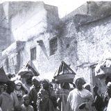 Mariage arabe porteurs de gâteaux _ Maroc 1915