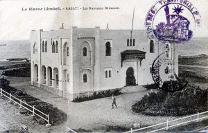Carte postale - Rabat - les nouveaux bâtiments - Maroc 1914