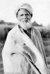 un marocain âgé, 1915