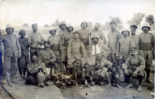 121e régiment Territorial - Joseph Miquel Maroc 1915