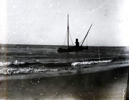 Bateau échoué - Raz de marée 1912