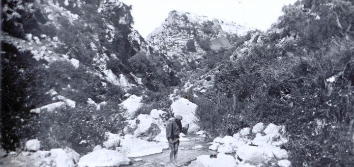 Maroc 1915, un oued