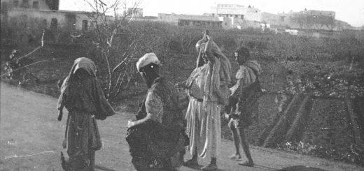 Marocains sur la roure - Maroc 1915