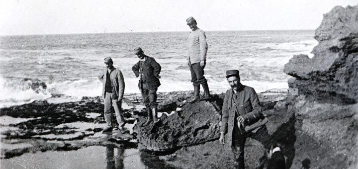 Partie de pêche aux poulpes et moules