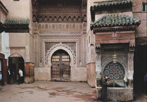 Fès, Nejjarine, vers 2000