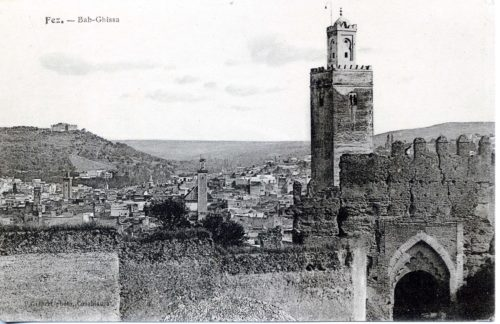 carte postale Fez Bab-Ghissa
