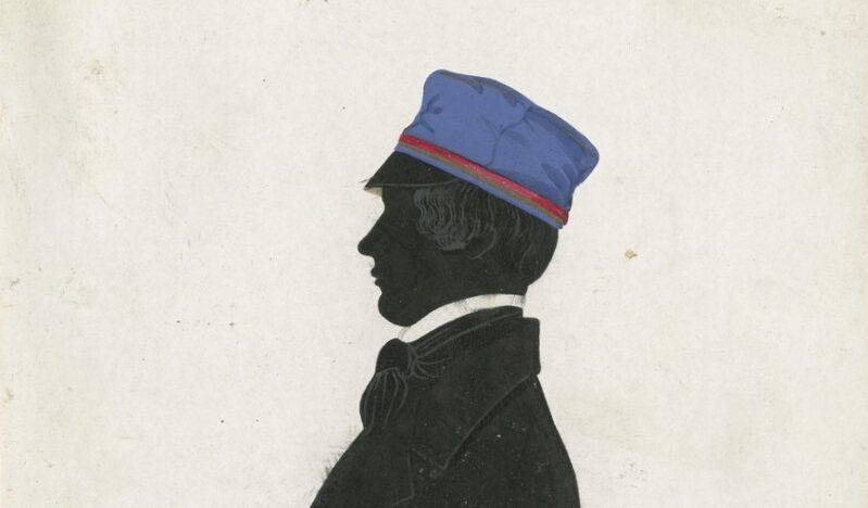Abb. 3: Michał Cyž (1825–1860), Schattenriss mit Widmung 1849