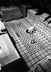 Maquette Projet Drevet-Buren, 1992 - P0740 FIGRPTL269 2. © Bibliothèque municipale de Lyon